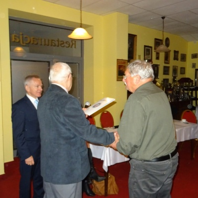 Toruń. Spotkanie z gen. A. Rapackim 4.10.2017